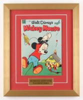 "Vintage 1953 Walt Disney's ""Mickey Mouse"" 14x17 Custom Framed Comic Book"