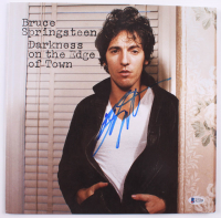 """Bruce Springsteen Signed """"Darkness on the Edge of Town"""" Vinyl Record Album (Beckett LOA)"""