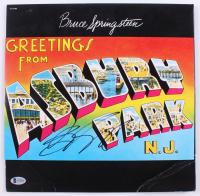 "Bruce Springsteen Signed ""Greetings from Ashbury Park"" Vinyl Record Album (Beckett LOA)"