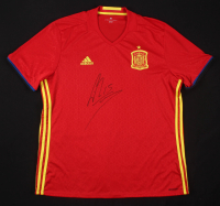 Sergio Ramos Signed Spain Jersey (Beckett COA) at PristineAuction.com