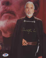 "Christopher Lee Signed ""Star Wars"" 8x10 Photo (PSA COA) at PristineAuction.com"
