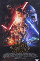 "J.J. Abrams Signed ""Star Wars: The Force Awakens"" 12x18 Movie Poster (PSA COA)"