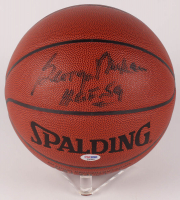 "George Mikan Signed Official NBA Indoor/Outdoor Basketball Inscribed ""HOF 59"" (PSA COA)"