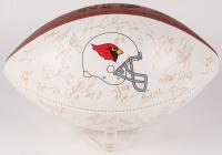 1998 Arizona Cardinals Multi-Signed Logo Football with (37) Signatures Including Pat Tillman, Aeneas Williams, Lomas Brown, Frank Sanders, Jake Plummer (Beckett LOA)