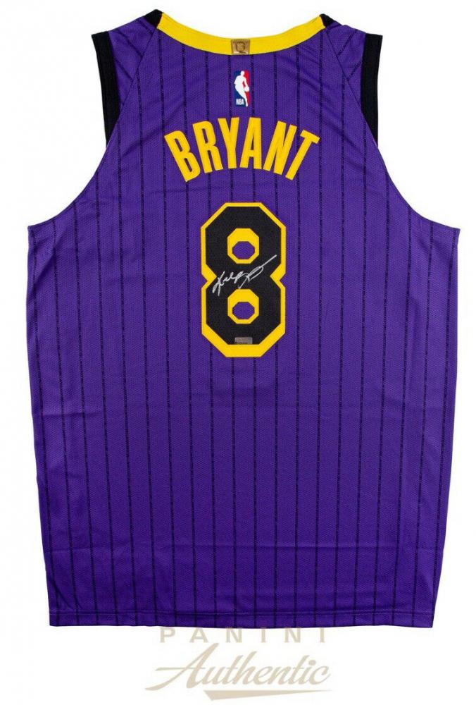 cb34a037b48 Kobe Bryant Signed Los Angeles Lakers 2019 City Edition Jersey (Panini COA)
