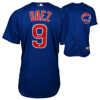 Javier Baez Signed Chicago Cubs Jersey (Fanatics Hologram & MLB Hologram) at PristineAuction.com