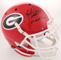 """Herschel Walker Signed Georgia Bulldogs Full-Size Authentic On-Field Helmet Inscribed  """"80 Natl Champs"""" (Beckett COA) at PristineAuction.com"""