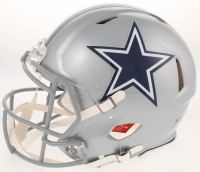 Ezekiel Elliott Signed Dallas Cowboys Full-Size Authentic On-Field Speed Helmet (Beckett & Radtke COA) at PristineAuction.com