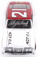 Cale Yarborough Signed NASCAR #21 1968 Mercury Cyclone 1:24 Premium Diecast Car (PA COA) at PristineAuction.com