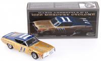 Mario Andretti Signed NASCAR #11 1968 Mercury Cyclone 1:24 Premium Diecast Car (PA COA)