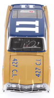 Mario Andretti Signed NASCAR #11 1968 Mercury Cyclone 1:24 Premium Diecast Car (PA COA) at PristineAuction.com