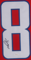Alexander Ovechkin Signed Washington Capitals 35x43 Custom Framed Jersey (JSA Hologram) at PristineAuction.com