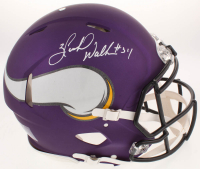 Herschel Walker Signed Minnesota Vikings Full-Size Authentic On-Field Speed Helmet (Beckett COA) at PristineAuction.com