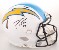 Philip Rivers Signed Los Angeles Chargers Full-Size Authentic On-Field Hydro Dipped Speed Helmet (Beckett COA)