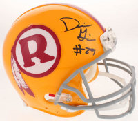 Derrius Guice Signed Washington Redskins Throwback Full-Size Authentic On-Field Helmet (Radtke COA) at PristineAuction.com