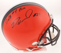 "Denzel Ward Signed Cleveland Browns Full-Size Authentic On-Field Helmet Inscribed ""2018 #4 Pick"" (Radtke COA) at PristineAuction.com"