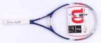 Chris Evert Signed Wilson Full Size U.S. Open Tennis Racket (MAB Hologram)