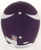 Brett Favre Signed Minnesota Vikings Full-Size Authentic On-Field Helmet (Favre COA) at PristineAuction.com