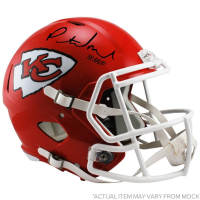 "Patrick Mahomes Signed Chiefs Full Size Speed Helmet Inscribed ""18 MVP"" (Steiner COA)"
