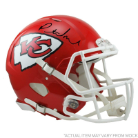 Patrick Mahomes Signed Chiefs Full Size Authentic Speed Helmet (Steiner COA) at PristineAuction.com