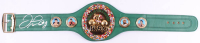 Floyd Mayweather Jr. Signed Full-Size WBC Heavyweight Championship Belt (TriStar Hologram)