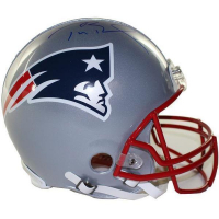 Tom Brady Signed Patriots Full-Size Authentic Proline Helmet (Steiner COA & TriStar)