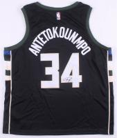 Giannis Antetokounmpo Signed Milwaukee Bucks Authentic Nike Jersey (JSA COA) at PristineAuction.com