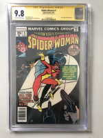 "Stan Lee Signed 1978 ""Spider-Woman"" Issue #1 Marvel Comic Book (CGC Encapsulated - 9.8)"
