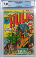"1974 ""The Incredible Hulk"" Issue #173 Marvel Comic Book (CGC 7.0)"