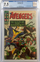 "1966 ""The Avengers"" Issue #32 Marvel Comic Book (CGC 7.5)"
