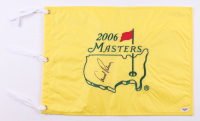 Arnold Palmer Signed 2006 Masters Pin Flag (PSA COA) at PristineAuction.com