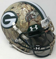 Aaron Rodgers Signed Green Bay Packers Limited Edition Custom Hydro Dipped Full-Size Authentic On-Field Helmet (Steiner COA) at PristineAuction.com