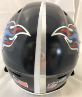 "Eddie George Signed Tennessee Titans Full-Size Authentic On-Field Speedflex Helmet Inscribed ""Titan Up"" (Beckett COA) at PristineAuction.com"