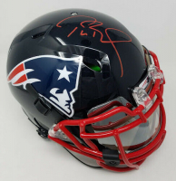 Tom Brady Signed New England Patriots Limited Edition Custom Hydro Dipped Full-Size Authentic On-Field Speed Helmet (Tristar Hologram & Steiner COA) at PristineAuction.com