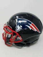 Tom Brady Signed New England Patriots Limited Edition Custom Hydro Dipped Full-Size Authentic On-Field Helmet (Tristar Hologram & Steiner COA) at PristineAuction.com