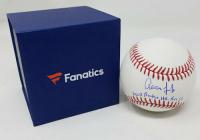 "Aaron Judge Signed Limited Edition OML Baseball Inscribed ""MLB Rookie HR Rec 52"" (Fanatics Hologram) at PristineAuction.com"