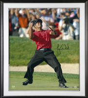 Tiger Woods Signed 30x40 Custom Framed Photo (UDA COA) at PristineAuction.com