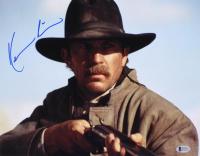 "Kevin Costner Signed ""Wyatt Earp"" 11x14 Photo (Beckett COA)"