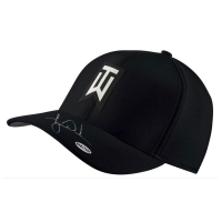 Tiger Woods Signed Nike Aerobill Black Golf Cap (UDA COA) at PristineAuction.com