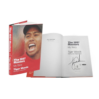 "Tiger Woods Signed ""The 1997 Masters: My Story"" Limited Edition Hardcover Book (UDA COA) at PristineAuction.com"