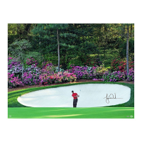 "Tiger Woods Signed ""Azalea"" 30x40 Photo (UDA COA)"