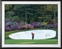 "Tiger Woods Signed ""Azalea"" 30x40 Custom Framed Photo (UDA COA)"
