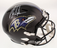 Mark Ingram Signed Baltimore Ravens Full-Size Speed Helmet (Radtke COA) at PristineAuction.com