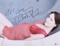 "Olivia Wilde Signed 11x14 Photo Inscribed ""All Love"" (Beckett COA)"