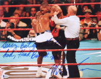 "Mike Tyson Signed 11x14 Photo Inscribed ""Sorry But You Should Not Had Head Butt Me"" (Beckett COA)"