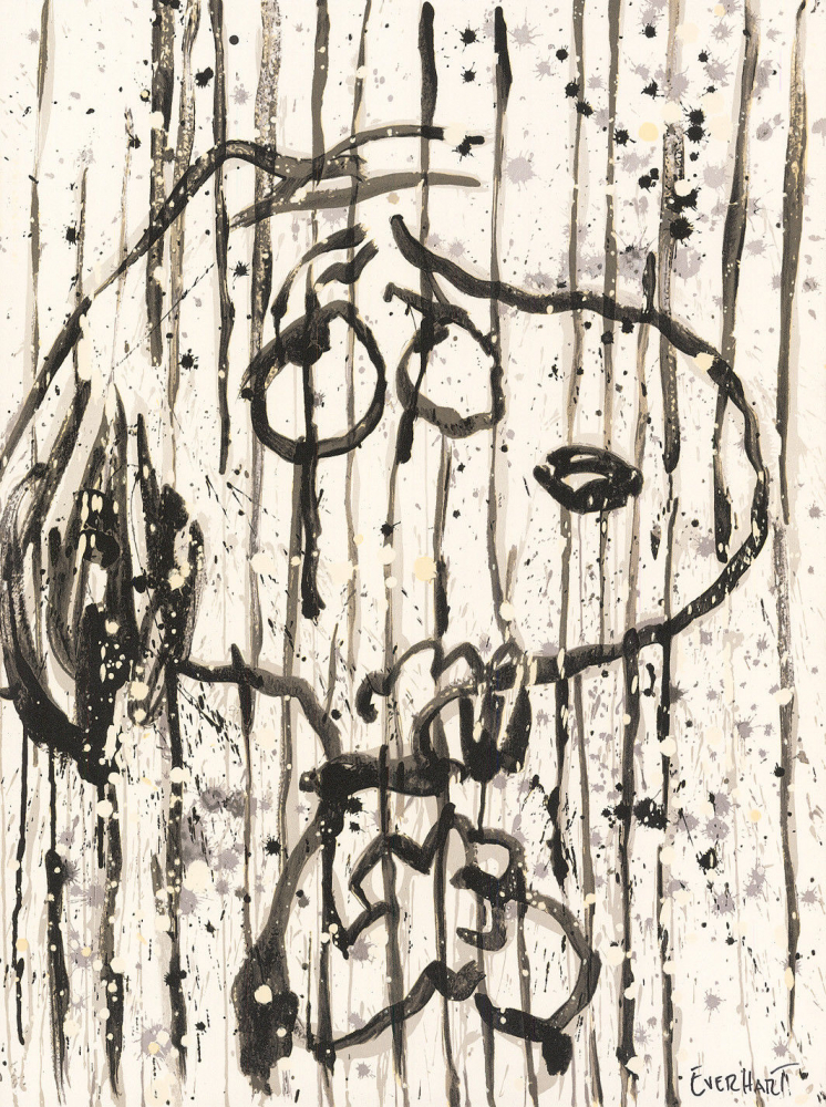 "Tom Everhart Signed ""Dancing in the Rain"" 22.5x30 Publisher's Proof Lithograph (PA LOA) at PristineAuction.com"