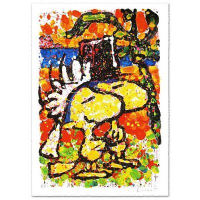 "Tom Everhart Signed ""Hitched"" 31x44 Publisher's Proof Lithograph (PA LOA) at PristineAuction.com"