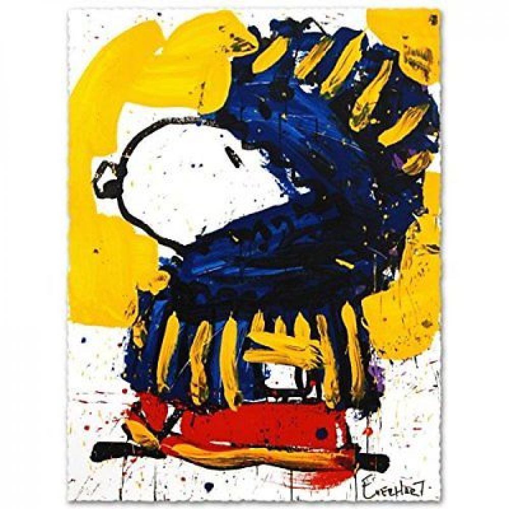 """Tom Everhart Signed """"March Vogue"""" 22.5x30 Publisher's Proof Lithograph (PA LOA) at PristineAuction.com"""