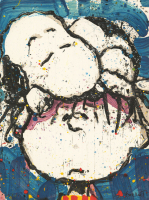 "Tom Everhart Signed ""Sleepy Head"" 22.5x30 Publisher's Proof Lithograph (PA LOA)"