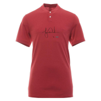 Tiger Woods Signed Limited Edition Red Vapor Aeroreact Blade Nike Polo Shirt (UDA COA) at PristineAuction.com